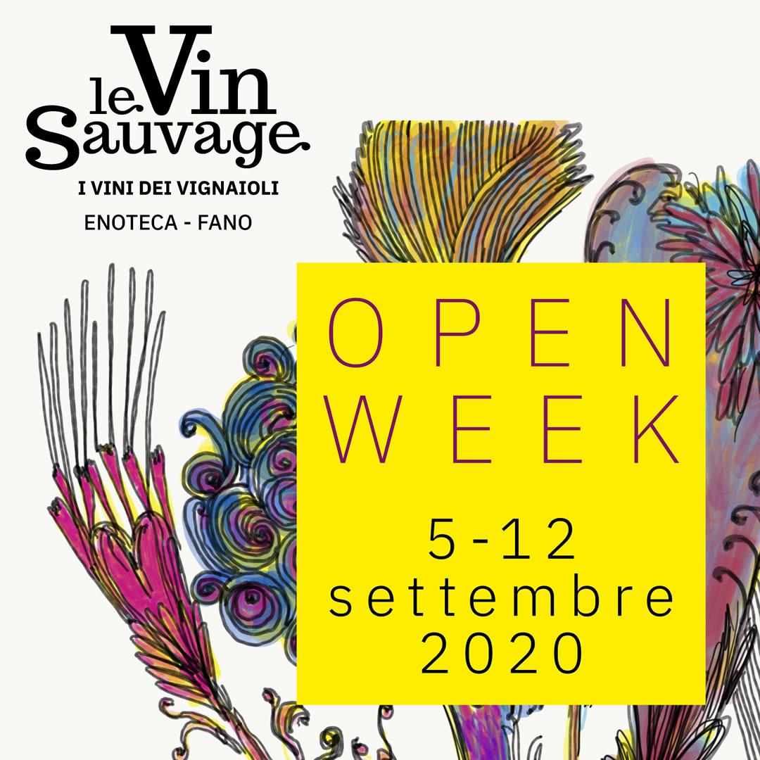 Open Week presso Enoteca Le Vin Sauvage a Fano | 5-12 Settembre 2020