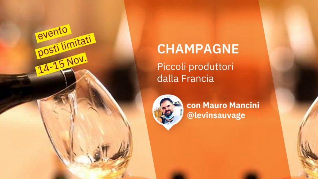 Evento Champagne Mauro Mancini